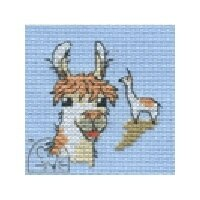 Mouseloft Stitchlets - Llama Cross Stitch Kit