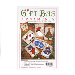 Rachel's Of Greenfield Gift Bag Ornaments Sewing Kit