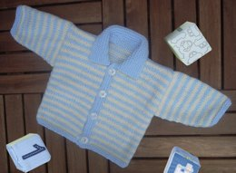 Baby Boy Stripe Cardigan