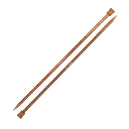 Knitter's Pride Ginger Single Point Needles 35cm (14in) (1 Pair)
