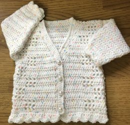 Crochet Cardigan Pattern for Baby/Child (1011)