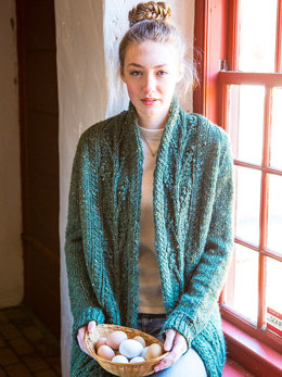 Champlain Cardigan in Berroco Inca Tweed