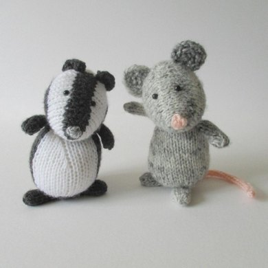 Bubble Badger and Squeak Mouse