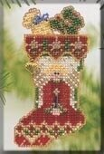 Mill Hill Angelic Stocking Cross Stitch Kit - Multi