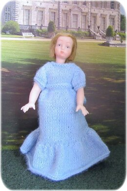 1:12th scale Girls bridesmaid dresses