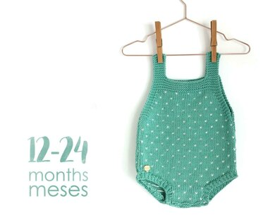 Size 12-24 months - Topitos Baby Romper