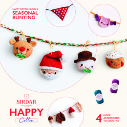 Seasonal Bunting 2 by Sirdar