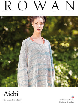 Aichi Cardigan in Rowan Purelife Revive - Downloadable PDF