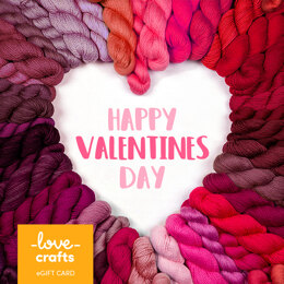 LoveCrafts eGift Card - Valentines Day