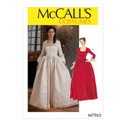 McCall's Misses' Costume M7965 - Sewing Pattern