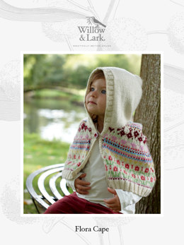 Flora Cape in Willow & Lark Nest - Downloadable PDF