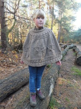 """""""Autumn Forest""""Poncho"""