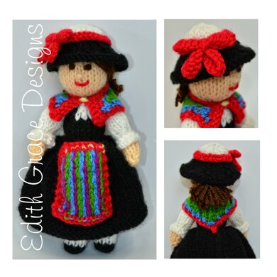 Swiss Folk Doll