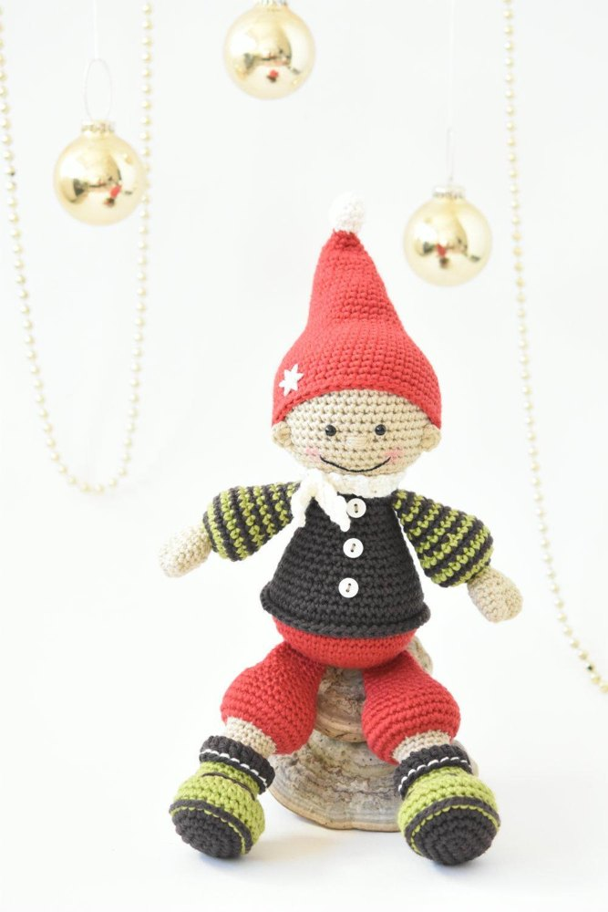 Jester the Christmas gnome Crochet pattern by lilleliis