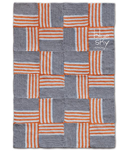 Colorplay Rug in Blue Sky Fibers Bulky - Downloadable PDF