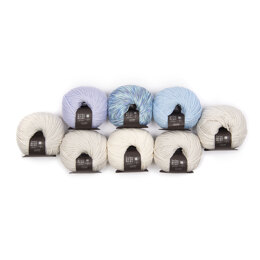 Rowan Mako Cotton Baby Keepsake 8 Ball Colour Pack