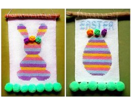 Easter Bunny And Egg Decor