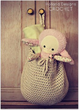 Cotton Hanging Storage Basket