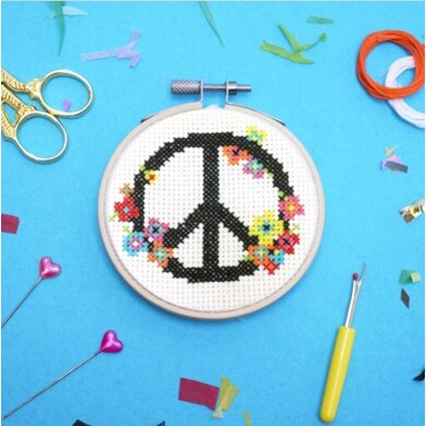 The Make ArcadePeace and LoveCross StitchKit