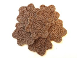 Flower hemp coasters