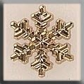 Mill Hill MH12038 - Medium Snowflake Gold