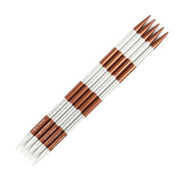 Knitter's Pride Smartstix Sienna Double Point Needles 20cm (8in) (Set of 5)