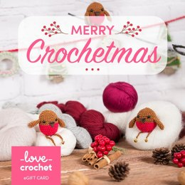 LoveCrochet eGift Card - Christmas