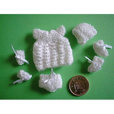 1:12th scale baby layette