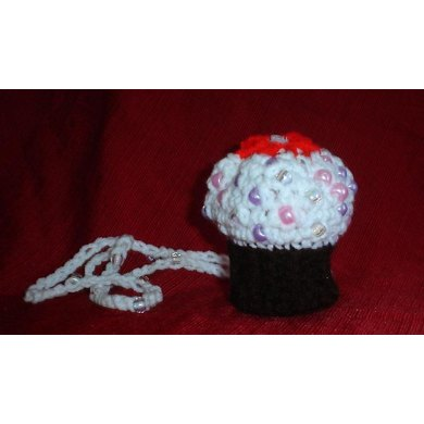 Cupcake Necklace Purse