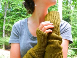 Olive Armwarmers
