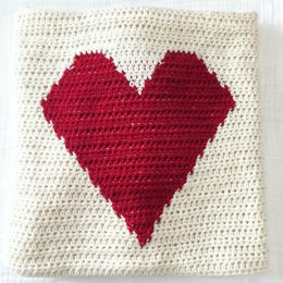 Big Heart Baby Blanket