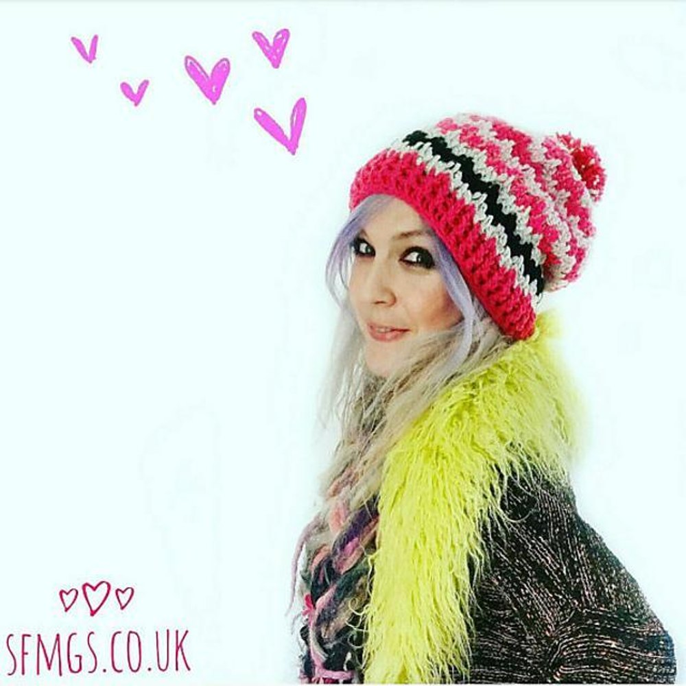 Spike stitch beanie crochet bobble hat crochet pattern by sfmgs spike stitch beanie crochet bobble hat zoom bankloansurffo Gallery