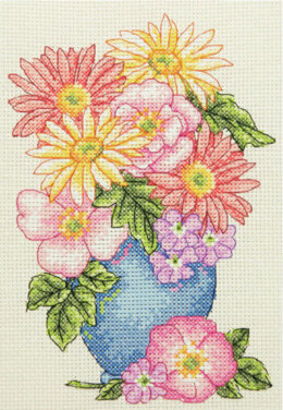 Anchor Floral Spray Starter Cross Stitch Kit
