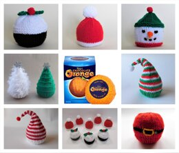 Christmas Chocolate Orange Covers
