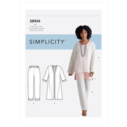 Simplicity Misses' Jacket, Top, Tunic & Pull-on Pants S8924 - Sewing Pattern