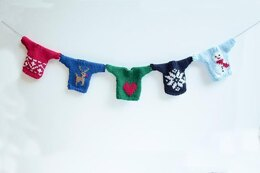 Mini Christmas Jumper Bunting