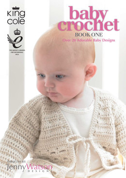 Baby Crochet Book One By King Cole  by Jenny Watson