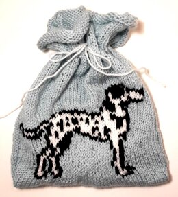 Drawstring Pouch - Dalmation