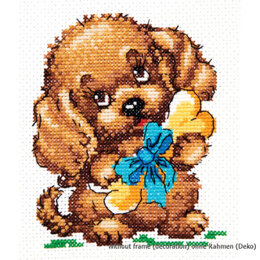 Magic Needle There is Happiness! Cross Stitch Kit - Multi