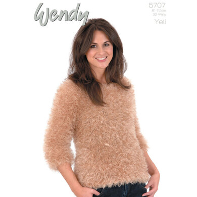 Raglan Jumper in Wendy Yeti - 5707