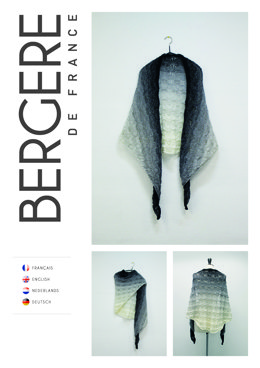 Lacy Shawl in Bergere de France Unic