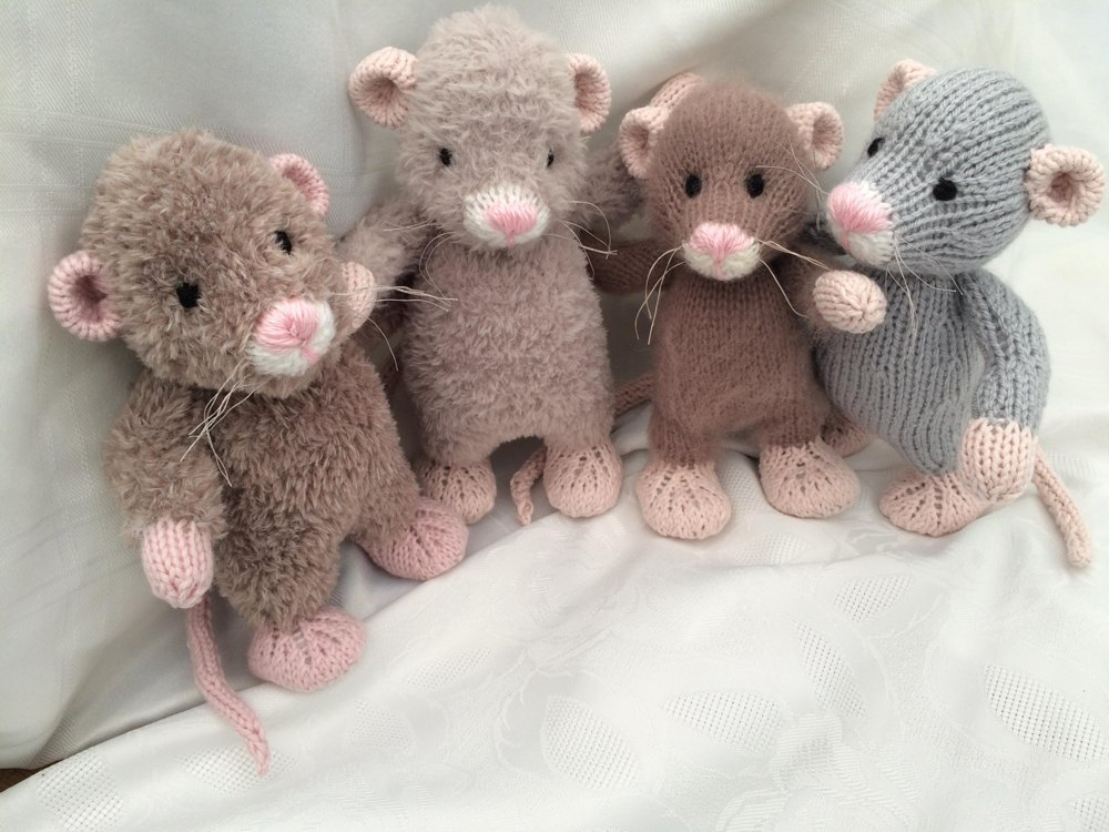 Knitting Patterns Toys Free Downloads : Little rattie knitting pattern by gypsycream