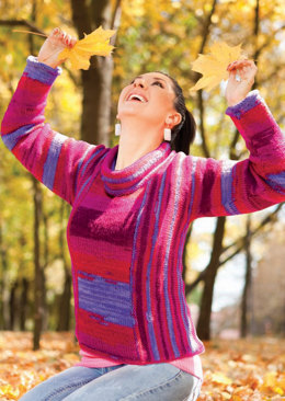 Winter Tee for Two in Knit One Crochet Too Ty-Dy Wool - 1718