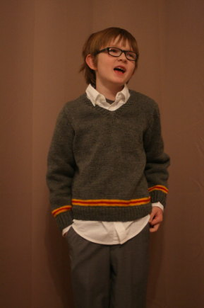 Gryffindor Sweater Knitting Project By Amber S Loveknitting