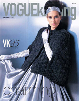 Basketweave Cape in Lion Brand Wool-Ease Thick & Quick