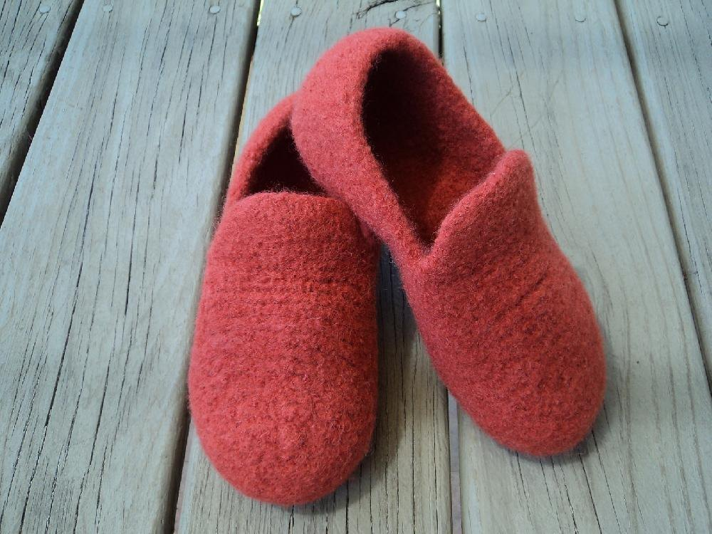 Stylecraft Knitting Pattern Errors : Loafer Slippers Felted Knit for Women Knitting pattern by ...
