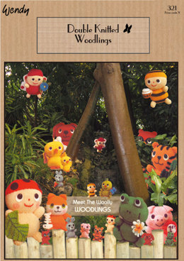 Wendy Double Knitted Woodlings (321)