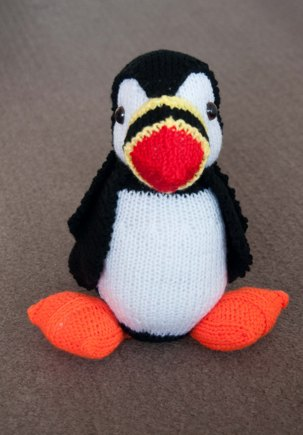 Craig The Puffin Knitting Project By Beverley W Loveknitting