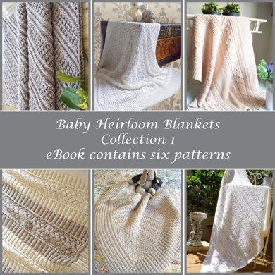 Baby Heirloom Blankets Collection 1  eBook