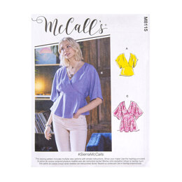 McCall's Misses' Tops M8115 - Sewing Pattern